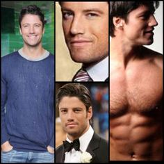 James Scott would be perfect as Christian Grey