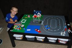 my DIY lego table! Turned out awesome!