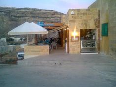 Azure Window Restaurant (by the Azure Window, GOZO) is tucked away but worth visiting. We had amazing swordfish for lunch here. Highly recommend.