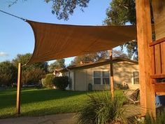 i want a sail shade for the back yard.