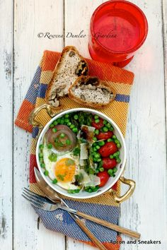 Apron and Sneakers - Cooking & Traveling in Italy and Beyond: Breakfast Skillet With Eggs, Vegetables & Parmesan
