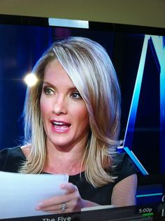 Dana Perino Foxes Hair style and Hair transformation