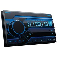 PLANET AUDIO PB455RGB Double-DIN In-Dash Mechless AM-FM Receiver with Bluetooth(R)