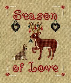 Stitchers Anon: December Needlework Masters SAL Page/freebie