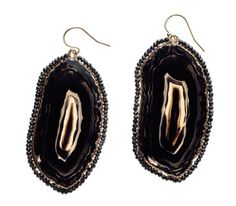 Eva Hanusova Agate-and-Spinel Earrings