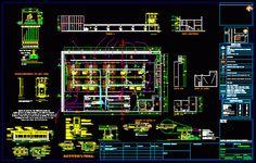 Plan Autocad d'une station de gaz dwg | Génie civil et Travaux Publics Engineering
