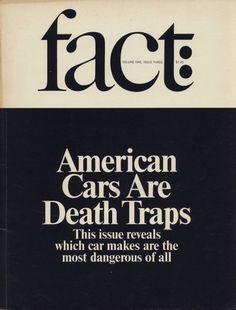Fact magazine, art director: Herb Lubalin