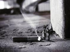 Slinkachu Is Een Street Artist Met Een Genitale Fixatie Die Binnenkort Naar Antwerpen Komt - VICE