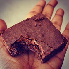 Eggless Chocolate Brownie with condensed milk. | Forks N Knives