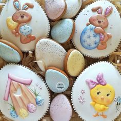 can find Gingerbread cookies and more on our website. Spice Cookies, Fancy Cookies, Cute Cookies, Easter Cookies, Royal Icing Cookies, Easter Treats, Cupcake Cookies, Sugar Cookies, Easter Biscuits