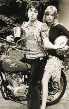 P. McCartney did Honda!