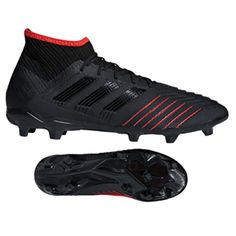a8f54a31f55 adidas Predator 19.2 FG Soccer Shoes (Black Active Red)   SoccerEvolution