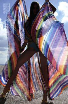 Michael Jackson B/&W Montage Design Lightweight Chiffon Long Scarf Shawl *SALE*