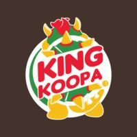 King Koopa by Dann Matthews >> Bowser & Burger King logo mashup Super Mario Kunst, Super Mario Art, Mario And Luigi, Mario Bros, Pokemon, Super Nintendo, Nintendo Games, King Koopa, Nintendo World