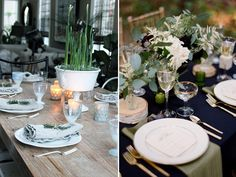 winter-themed tablescape