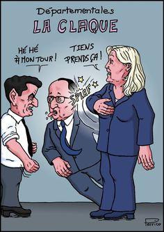 Une de plus pour François Hollande. Heureusement qu'il n'a pas les joues…