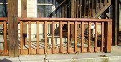 build a deck railing project