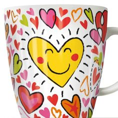 Ritzenhoff A delicious coffee from the lovingly decorated Ritzenhoff designer mug warms not only the senses, but also the heart. Everyone will certainly find their own personal favorite with the charming My Darling Collection. Also a great gift idea. Coffee Mug Sets, Mugs Set, Tea Mugs, Coffee Cups, Porcelain Mugs, Ceramic Cups, China Porcelain, Cappuccino Tassen, Mug Warmer