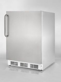Summit FF7CSSADA Commercial 55 Cu Ft Stainless Steel Undercounter BuiltIn Compact Refrigerator * More info could be found at the image url.