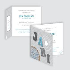 Geboortekaartje Jari, ontworpen door Ontwerp Studio Rottier