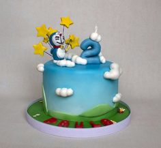 tarta doraemon cake (7) | Flickr: Intercambio de fotos