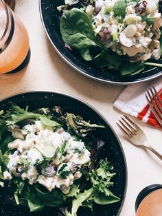 Grape and Herb Chicken Salad