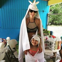 Kelly Hopkins added a photo of their purchase Swim Lessons, Beach Kids, Polar Fleece, Baby Animals, Hoods, Little Girls, Unicorn, Twins, Towel