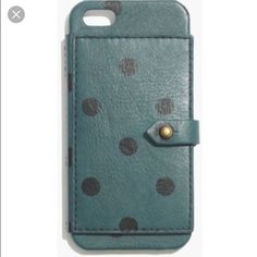 Madewell card case for iphone 5/5s New in box. Never been used. Madewell Accessories Phone Cases