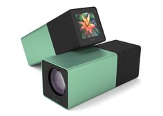 """UK launch of light field Lytro camera you focus after shooting ~ The Lytro camera uses """"plenoptic"""" or """"light-field"""" technology to record light at every point in a scene, rather than at a particular focal point, as with a traditional camera. The user can then select a focal point to create a sharp image later."""