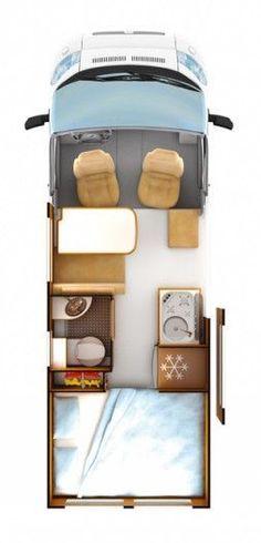 Van Home Layout 310115124335991564 - Van layout Source by marinelladr Sprinter Van Conversion, Camper Conversion, Campervan Conversions Layout, Van Conversion Layout, Diy Camper, Camper Life, Campers, Camping Ideas, Camping Vans