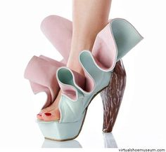 Love Shoes! Crazy, Beautiful, Weird, and sometime Scary  Tina Patni | virtualshoemuseum.com