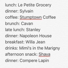 I'm sharing our dining itinerary from this weekend in New Orleans after so many messages asking about all the delicious food and drink @gjenkins13 and I were snapping in our insta stories 🍷🍴🍸🥂☕️ I've tagged every one I could find. Also a big shoutout to @thesainthotel and the always hospitable and helpful folks at @billy_reid on Magazine Street  via ✨ @padgram ✨(http://dl.padgram.com)