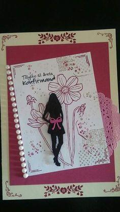 Kort lavet af mig (Pan)   Card made by me (Pan)     - SU Helping me grow - SU timeless Texture