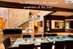 An #INTERIOR is The #Natural Projection of The #Soul Consultation on Building House or Renovation #TurnkeyInterior #Designers For more visit: swiftprointeriors.com Contact US: 011 46021546