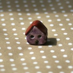 Purple Country Cottage Bead £3.00