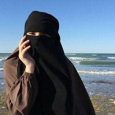 Hijab Niqab, Muslim Hijab, Hijab Dp, Hijab Dress, Beautiful Arab Women, Beautiful Hijab, Hijabi Girl, Girl Hijab, Niqab Fashion