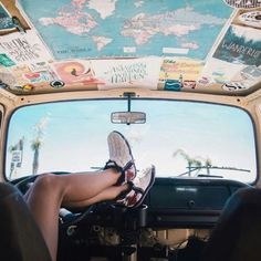 VSCO - gurl-moods - Images You are in the right place about Jeeps quotes Here we offer you the most beautiful pictures about the Jeeps stickers you ar Hippie Auto, Hippie Car, Maserati Ghibli, Aston Martin Vanquish, Bmw I8, My Dream Car, Dream Cars, Porsche 718, Car Interior Decor