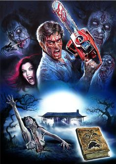 "thedeaditeslayer: ""The Evil Dead by Enzo Sciotti """