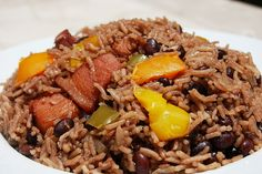 Cuban Moors and Christians (arroz moro cubano)