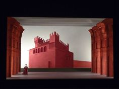 Richard Hudson, 'Romeo and Juliet': Stage Design, Scenic Design, Stage