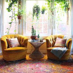 22 Modern Rustic Bohemian Living Room Design Ideas Home Decoration Boho Room, Boho Living Room, Home And Living, Living Spaces, Modern Living, Colorful Living Rooms, Chairs For Living Room, Armchair Living Room, Colourful Home