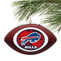 """NFL Buffalo Bills Filigree Touchdown Mini Replica Football Ornament by Football Fanatics. $8.95. Buffalo Bills Filigree Touchdown Mini Replica Football OrnamentTeam colors and logoGreat gift ideaReady to wrapApproximately measures 4.5"""" x 3.5""""Made of polystyreneImportedOfficially licensed NFL productPre-packaged caseMade of polystyreneApproximately measures 4.5"""" x 3.5""""Officially licensed NFL productTeam colors and logoPre-packaged caseReady to wrapGreat gift ideaImported"""