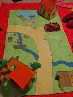 calico critters play mat