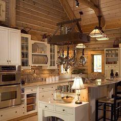 Rustic kitchen design <3