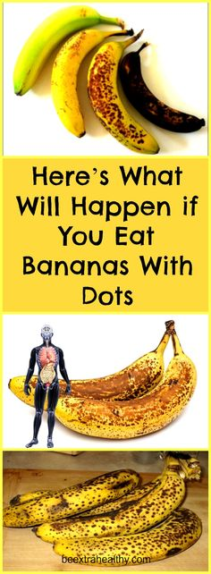 Here's What Will Happen if You Eat Bananas With Dots