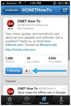 How to set up tweet notifications in latest Twitter for iOS, Android. http://cnet.co/Mg8ZDa