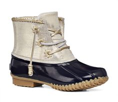 Chloe Boot size 9 | Womens Metallic Winter Boots | Jack Rogers