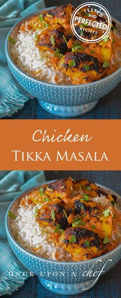 Chicken Tikka Masala - Quadruple the spices and substitute (scant) coriander chutney for ground coriander.