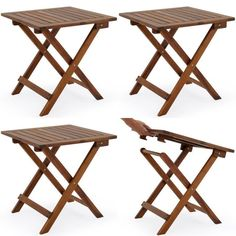 Low Snack Table Tropical Acacia Wood Bistro Coffee x for sale online Diy Furniture Projects, Outdoor Furniture, Outdoor Tables, Outdoor Decor, Picnic Table, Coffee Tables, Patio, Garden, Home Decor