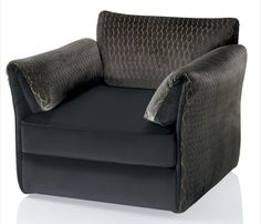 KENZO Maison, Cannes armchair with quilted cover.